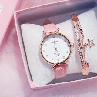Đồng hồ thời trang nữ Candycat mặt số dây da mẫu mới tuyệt đẹp thumbnail