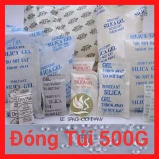 [Silicagel] Đóng túi 500g Gói Hút Ẩm loại 1 2 3 5 10 20 50 100g Silica Gel - Hạt chống ẩm mốc, khử mùi thumbnail