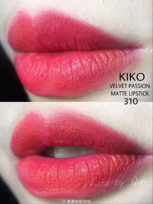 Son Kiko 310 Strawberry Red - Đỏ hồng hàng Pháp xuất Đức tốt nhất