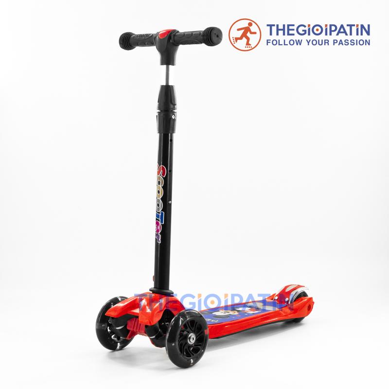 Mua Xe Trượt Scooter 5688 Đỏ - Dòng sản phẩm cao cấp dành chuyên dành cho trẻ em 3 đến 9 tuổi