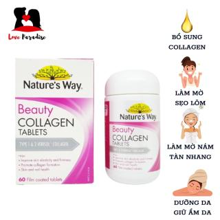 Viên uống đẹp da Nature s Way Beauty Collagen Booster Nature s Way 60 viên - Love Paradise thumbnail