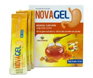 Novagel Gói uống hỗ trợ giảm đau dạ dày ( Hộp 20 gói) thumbnail