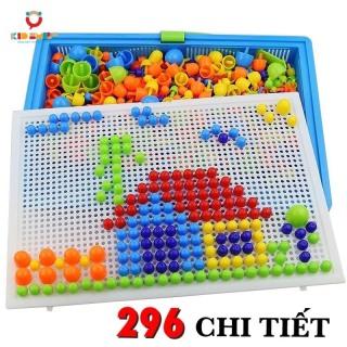 Đồ chơi trẻ em trồng nấm, ghim nấm tạo hình từ 296 nấm phát huy khả năng sáng tạo, phát triển tư duy và tăng cường tập trung cho trẻ từ 3 tuổi trở lên thumbnail