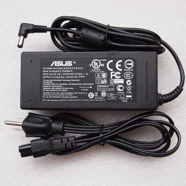 Giá Sạc Adapter laptop Asus 19V - 3.42A (Màu Đen)