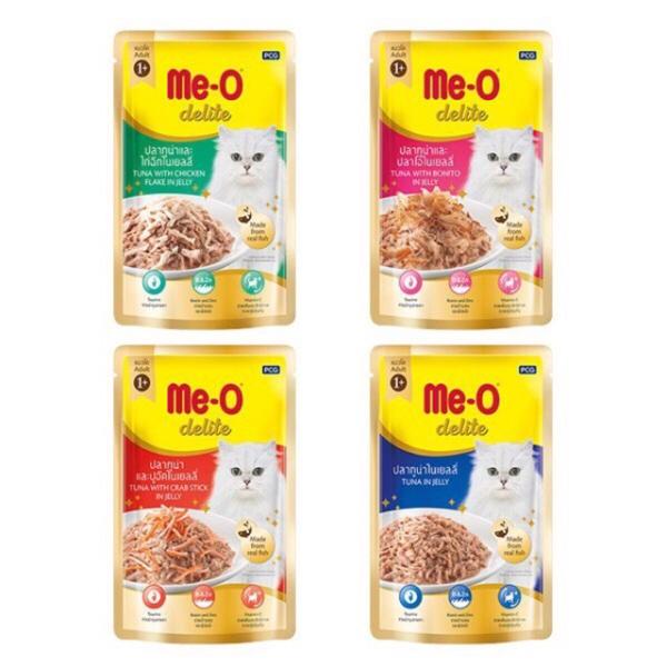 Thức ăn cho mèo Pate Me-o Delite 70g