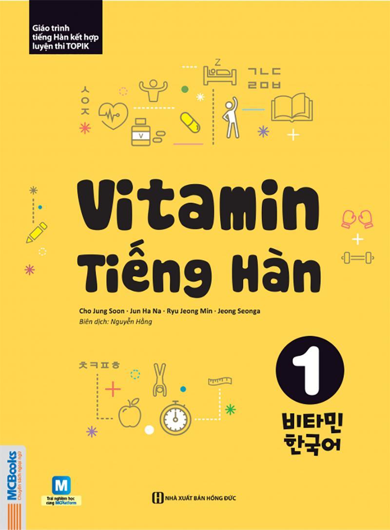Mua Sách - Vitamin Tiếng Hàn Tập 1