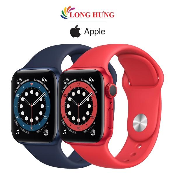[VOUCHER 8% TỐI ĐA 800K] Đồng hồ thông minh Apple Watch Series 6 GPS Aluminum Case Sport Band - Hàng chính hãng - Bộ nhớ trong 32GB, Chống nước chuẩn quốc tế, Gia tốc kế, con quay hồi chuyển, la bàn