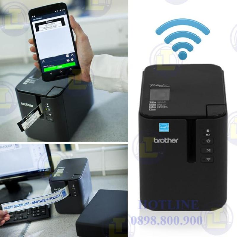 Máy in tem wifi Brother P Touch PT-P900W