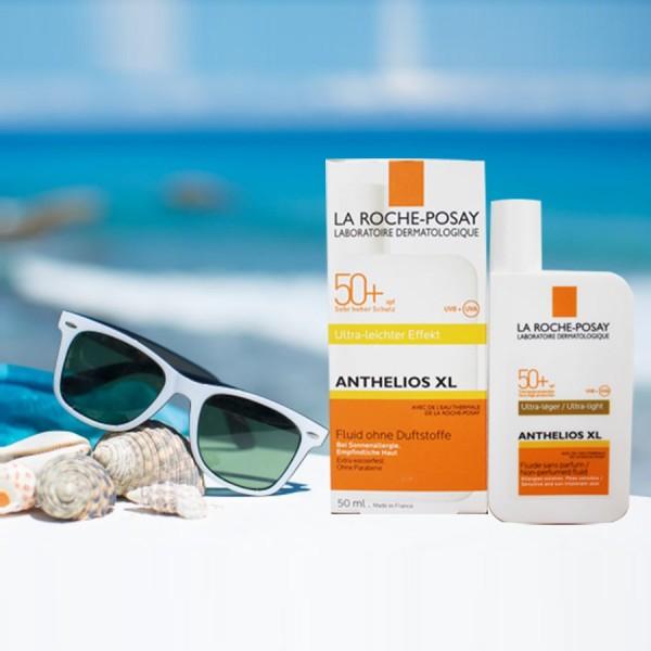 Kem chống nắng La Roche-Posay anthelios xl fluide spf 50+ cam kết hàng đúng mô tả chất lượng đảm bảo an toàn đến sức khỏe người sử dụng