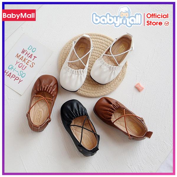 Giá bán Giày búp bê da siêu mềm MG baby BB001F, Phụ kiện cho bé, Giày dép trẻ em, Dép đi trong nhà, Sandal cho bé, Giay the thao cho be - TOP sản phẩm BabyMall Vietnam