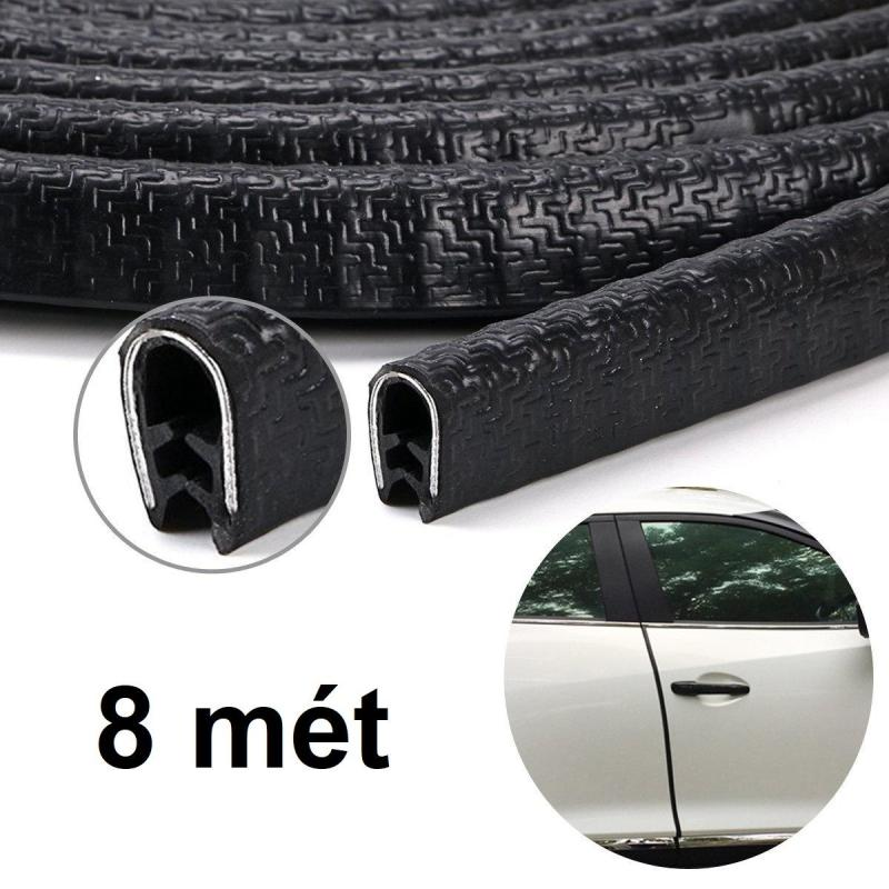 Mua Ron chữ U lõi thép cho xe hơi cuộn dài 8 mét đủ cho xe 4-5 chỗ