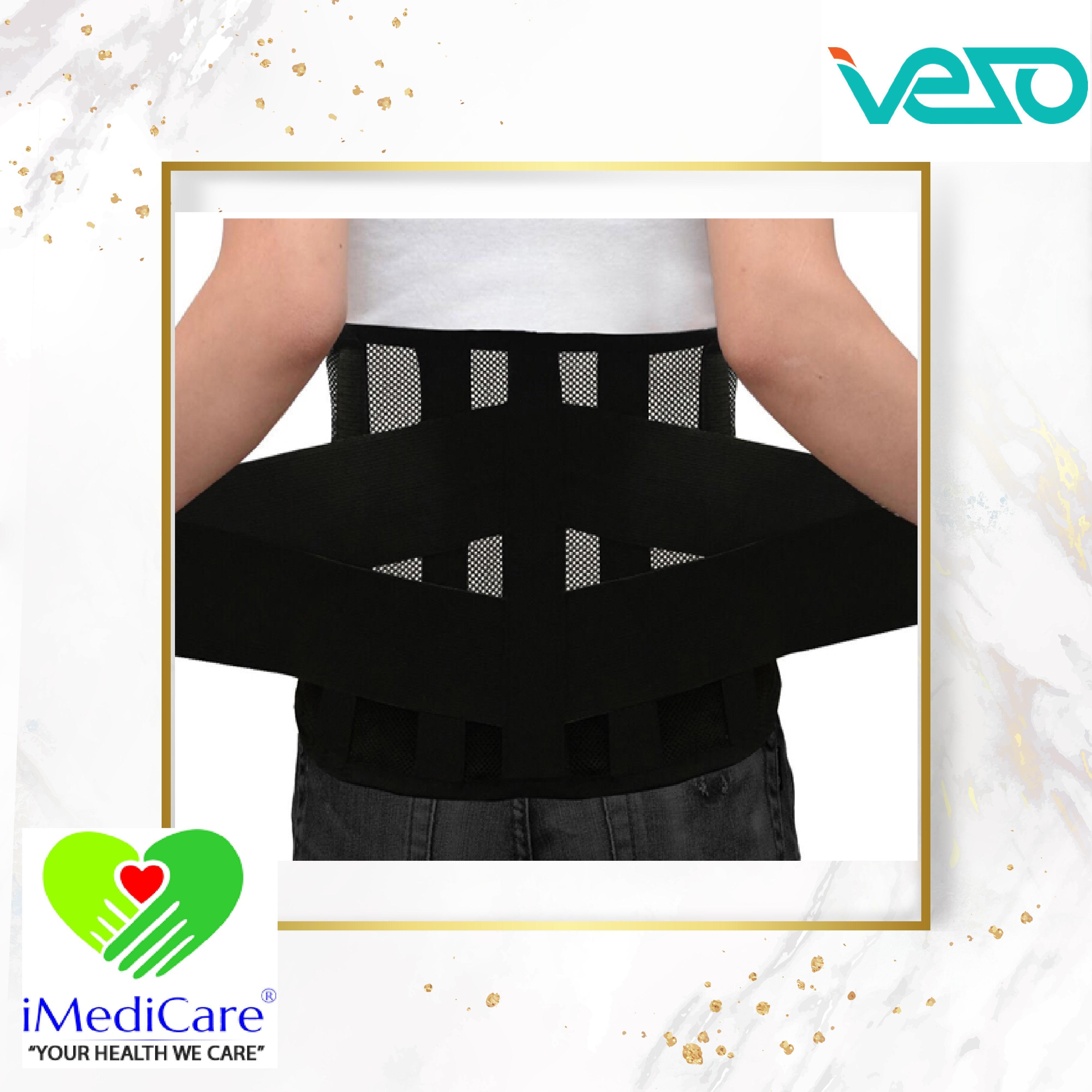 Đai thắt lưng cao cấp PresiTom L1 cho người đau lưng thoát vị đĩa đệm chính hãng