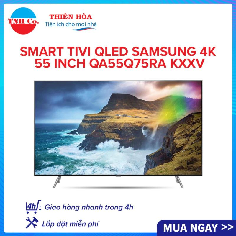 Bảng giá Smart Tivi QLED Samsung 4K UHD 55 inch QA55Q75RAKXXV (Bạc) kết nối Internet Wifi - Bảo hành 2 năm