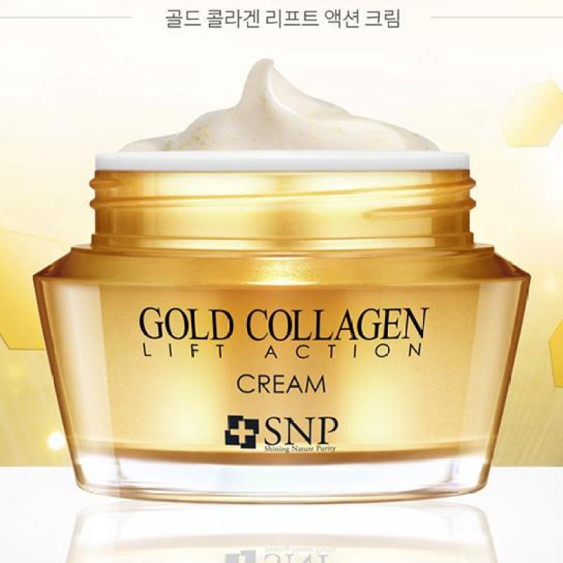 Kem Dưỡng Chống Lão Hóa Cao Cấp SNP Gold Collagen Lift Action Cream nhập khẩu