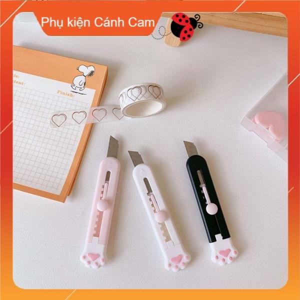 Mua Dao rọc giấy hình chân mèo dễ thương tiện dụng, Dọc giấy mini, Cắt giấy - Phụ kiện Cánh Cam