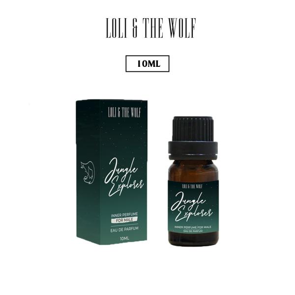 Nước hoa vùng kín dành cho nam Jungle Explorer chai 10ml - LOLI & THE WOLF