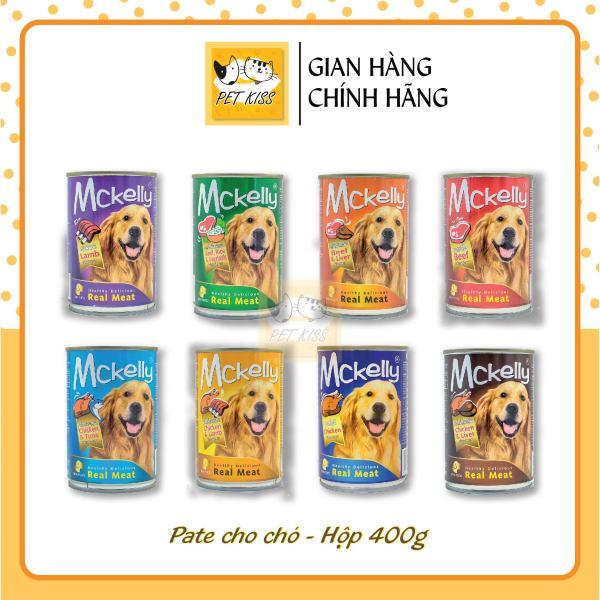 [HCM]Pate cho chó McKelly Dog Food Lon 400g