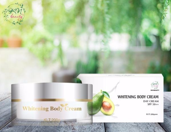 WHITENG BODY CREAM - Kem dưỡng trắng da toàn thân ban ngày KN Beauty cao cấp