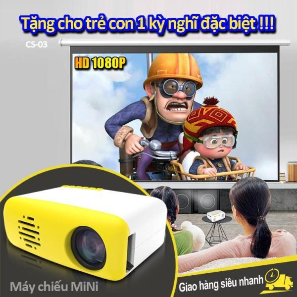 Bảng giá Máy chiếu mini cầm tay mang cả thế giới phim trong tay bạn, thiết kế nhỏ gọn, dễ dàng sử dụng, bảo hành 1 năm CS-03 Điện máy Pico