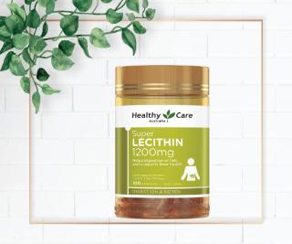 Mầm đậu nành _ Healthy Care Super Lecithin 1200mg 100 viên _ Dáng chuẩn, da đẹp, duy trì sức khỏe thumbnail