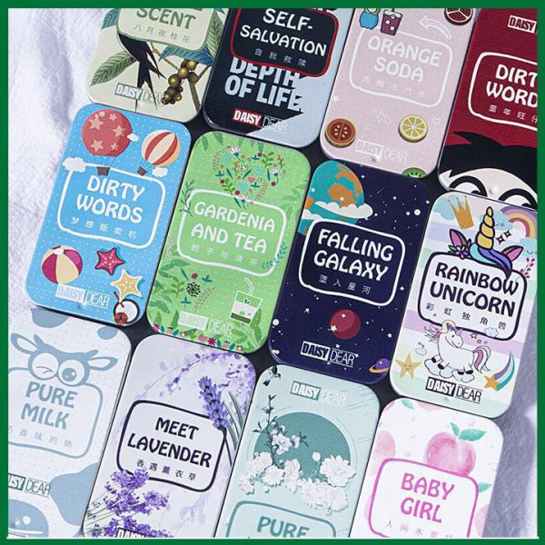 Nước Hoa Khô Dạng Sáp Daisy Dear, Nước Hoa Hộp Nhỏ Xinh Xắn 12 mùi hương thơm cho cả nam và nữ, [ BIG SALE MART ]