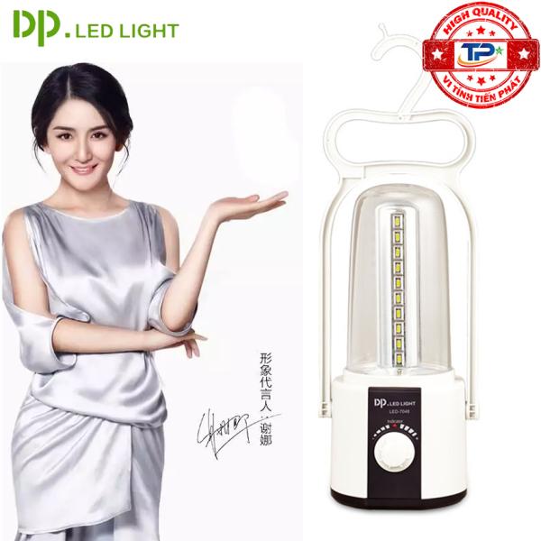 Đèn sạc tích điện DP DP-7048 với 40 bóng LED công suất 4W (trắng)
