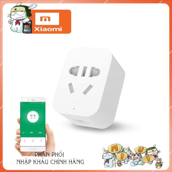 Ổ cắm thông minh Xiaomikết nối wifi- mi smart socket, hoạt động ổn định, đa chức năng, thiết kế đẹp và chắc chắn, cam kết chất lượng như mô tả