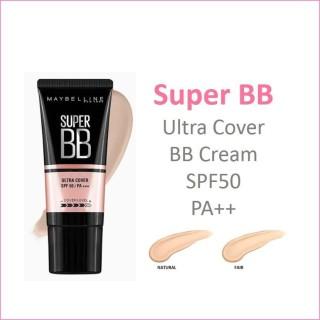 [Lấy mã giảm thêm 30%] Kem Nền Bb Che Khuyết Điểm Và Chống Nắng Maybelline New York Super Bb Ultra Cover Spf 50 Pa++++ thumbnail