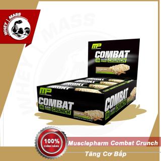 Bánh Bar Cung Cấp Protein Thay Thế Bữa Ăn Phụ MusclePharm Combat Crunch 12 Thanh thumbnail