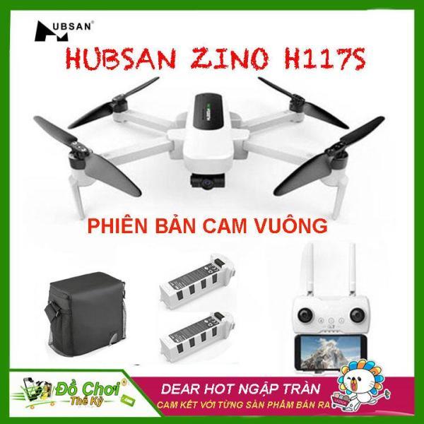[ COMBO BALO + 2 PIN ] Máy bay Flycam Hubsan  Zino H117S ( BẢN CAM VUÔNG ), GPS 5.8G, Gimbal 3 Trục, Camera 4K, FPV 1 KM, Thời gian bay lên đến 23 phút