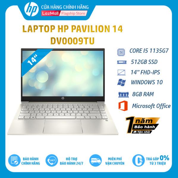 Bảng giá Laptop HP Pavilion 14-dv0009TU, Core i5-1135G7,8GB RAM,512GB SSD,14FHD, Win 10 Home/2D7A7PA-Hàng chính hãng Phong Vũ