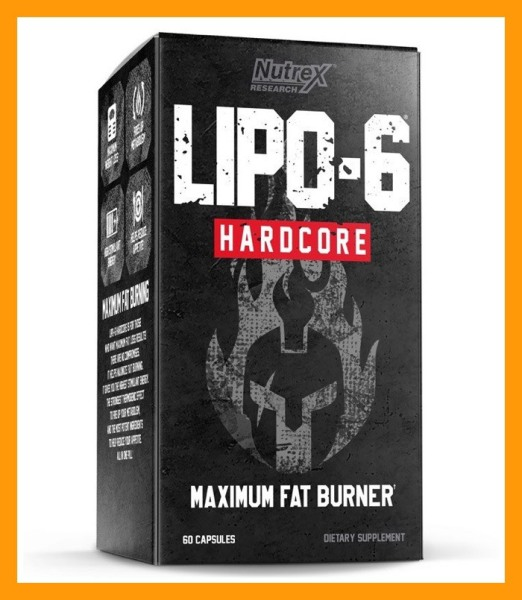 Viên Uống Hỗ Trợ Đốt Mỡ Giảm Cân Khi Tập Luyện Nutrex Lipo6 Hardcore 60 Viên - CHÍNH HÃNG