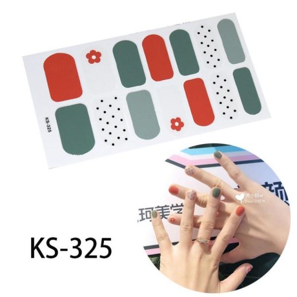 Set 14 nhãn dán trang trí móng tay với nhiều hoạ tiết tùy chọn