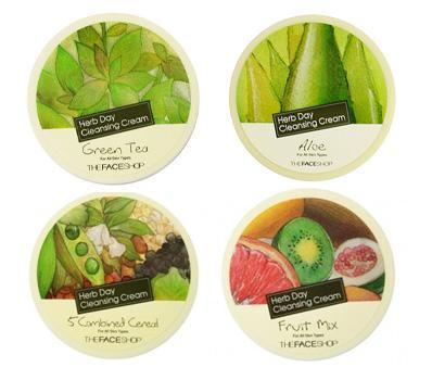 Kem Tẩy Trang Herb Day 365 Cleansing Cream TheFaceShop tốt nhất
