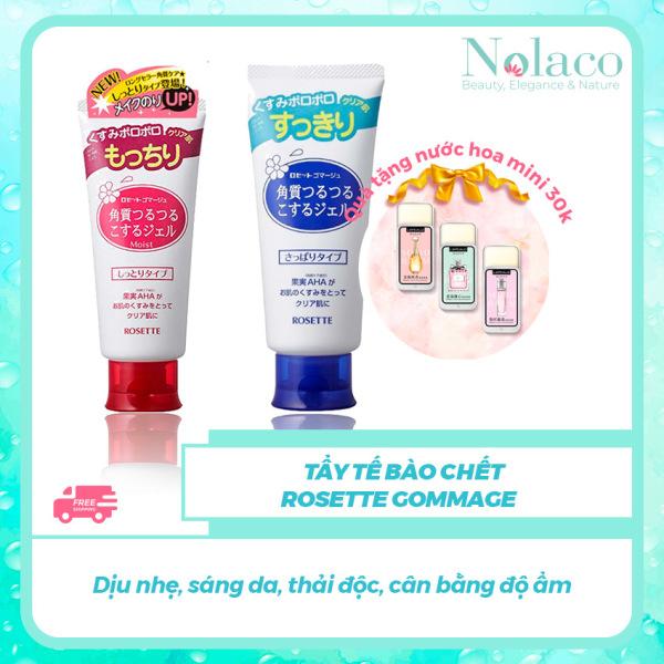 Tẩy tế bào chết Rosette Gommage + Tặng kèm nước hoa khô mini 30k + Dịu nhẹ, sáng da, thải độc, cân bằng độ ẩm + NOLACO nhập khẩu