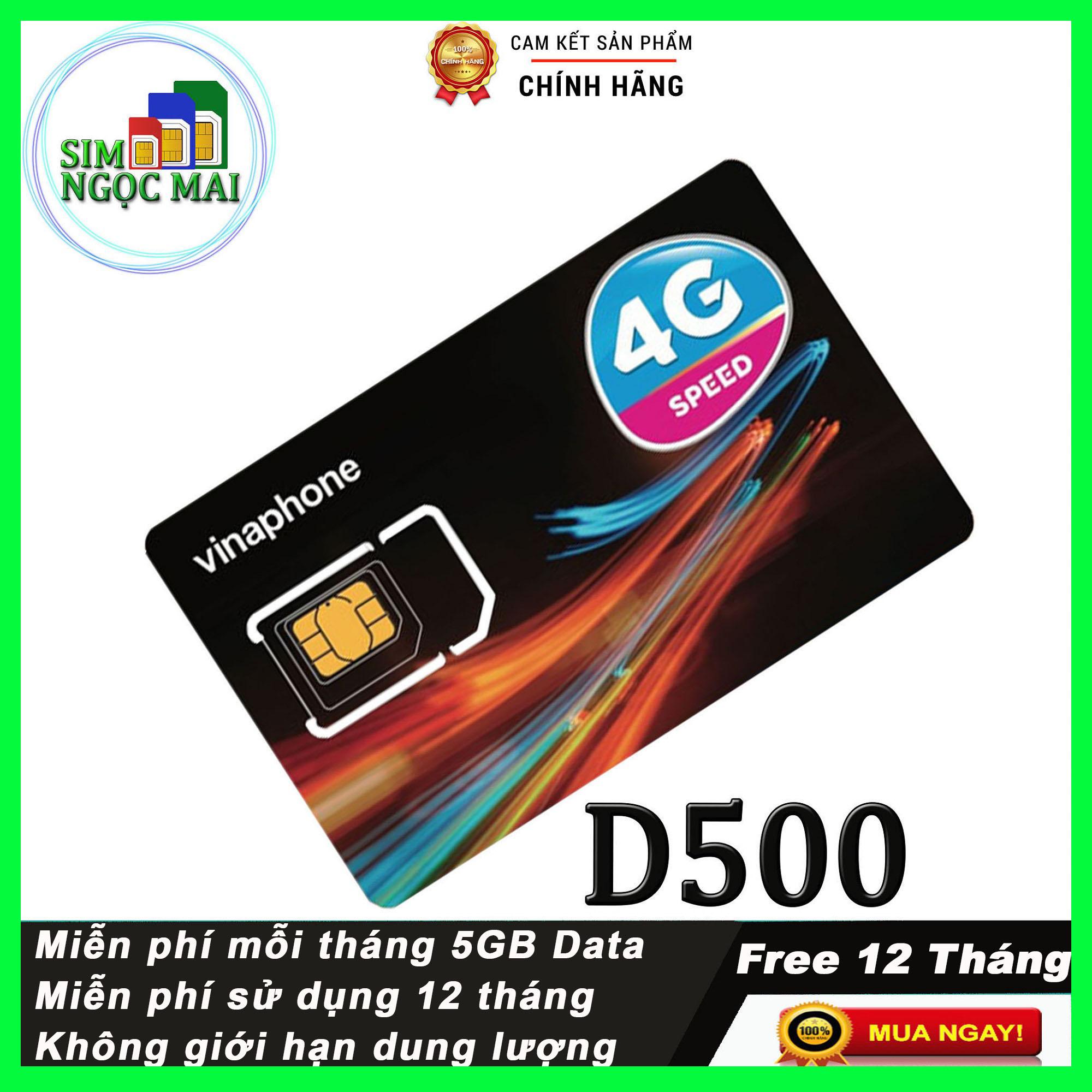 Offer Khuyến Mãi Sim 4G Vinaphone D500 Trọn Gói 12 Tháng (5GB/Tháng)