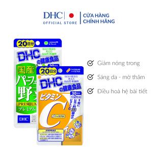 Combo Viên uống Giảm Nóng Trong - Sáng Da 20 Ngày (Rau Củ & VitaminC) thumbnail