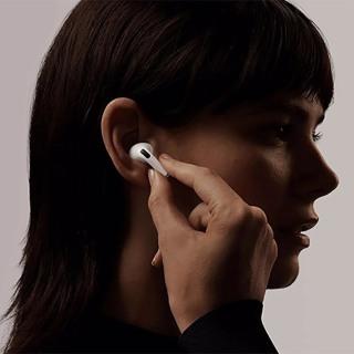 Tai nghe Bluetooth Airpods Pro TWS , đổi tên , sạc không dây Bảo hành 3 tháng [Màng Đen Chân Trắng Cao Cấp] thumbnail