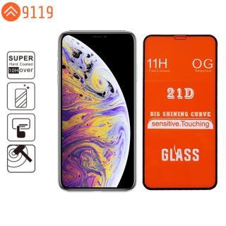 KÍNH CƯỜNG LỰC 21D IPHONE X XS FULL KEO FULL MÀN HÌNH - 9119 STORE thumbnail