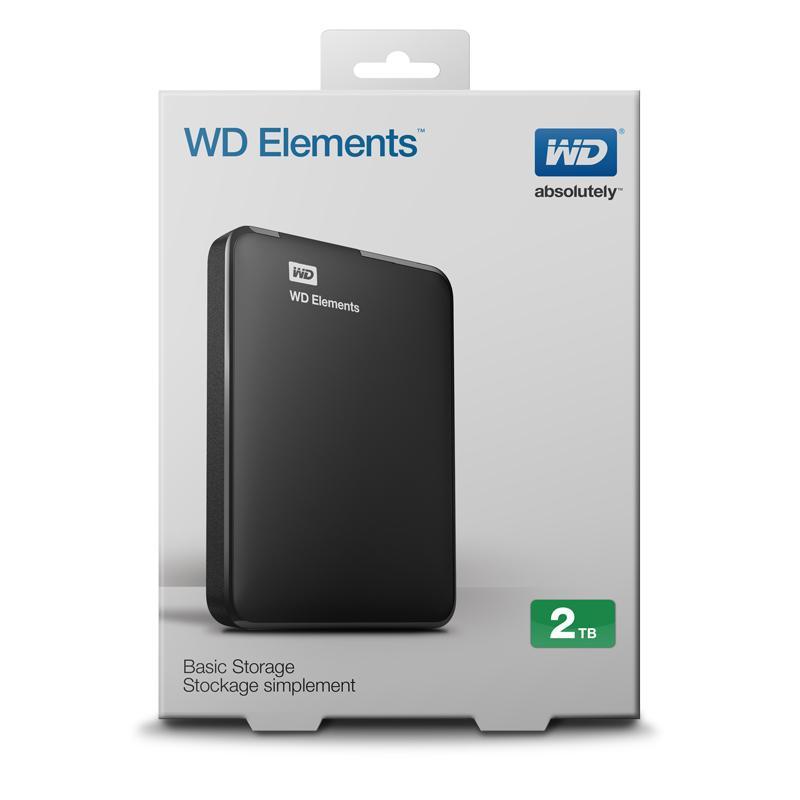 Ổ cứng di động wd Element 2000 GB Nhật Bản