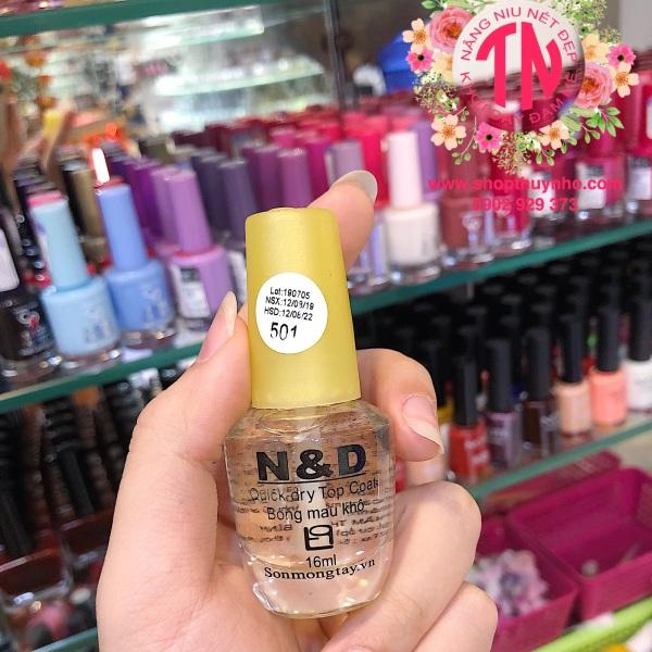 Sơn bóng mau khô nắp vàng N&D - Thanh Bình giá rẻ