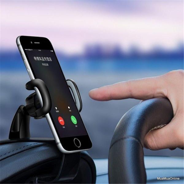 Giá đỡ điện thoại kẹp Taplo ô tô, Kẹp Điện Thoại Magnetic Trên Taplo Ô Tô / Xe Hơi Xoay 360 Độ Cao Cấp, Gía đỡ điện thoại
