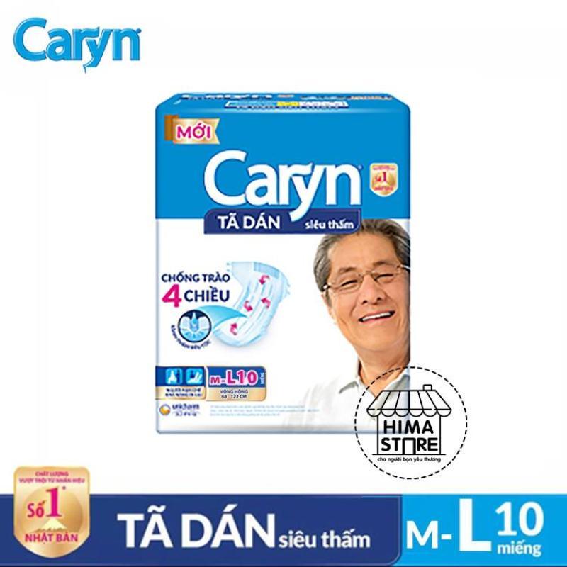 Tã dán người lớn siêu thấm Caryn m/L10 tốt nhất