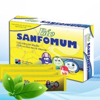 Men Tiêu Hóa -Bio Sanfomum - Men vi sinh dành riêng cho táo bón, tiêu chảy thumbnail