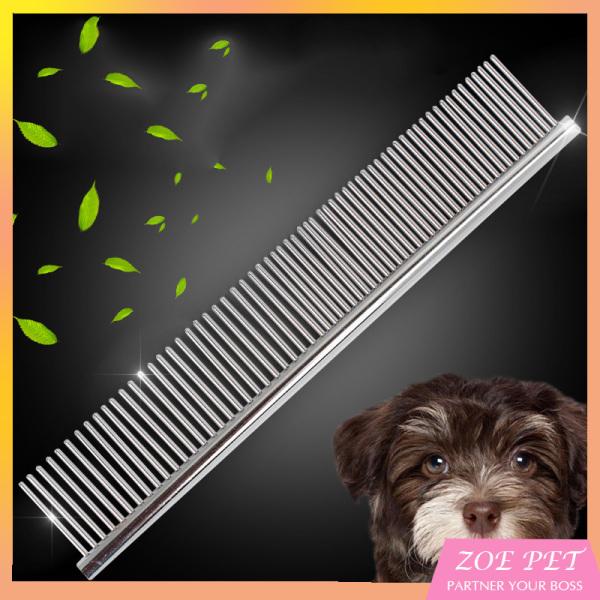 Lược chải lông cho chó, mèo, lược chải inox cao cấp gia công lưỡi răng tinh tế giúp chải lông mềm mượt