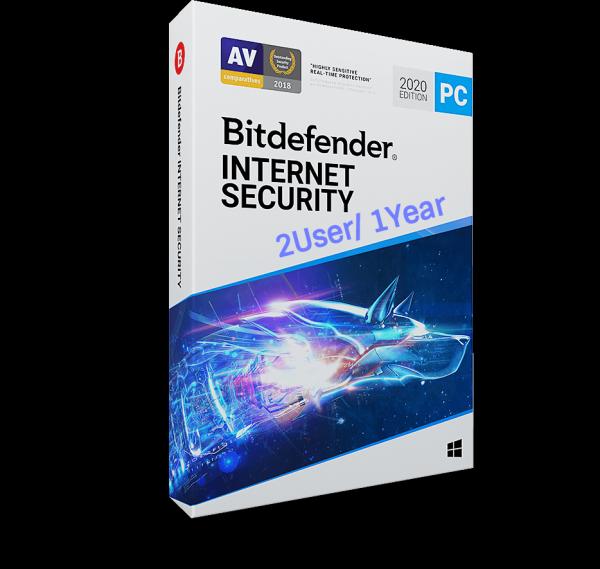 Bảng giá Phần Mềm Diệt Virus Bitdefender Internet Security 2020 2users/ 1năm Phong Vũ