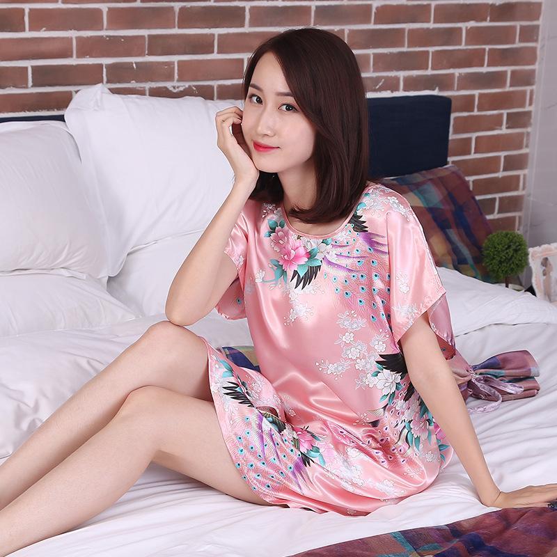 Áo Váy Ngủ Lụa Đẹp - VAY15 -tại Shoptienich92