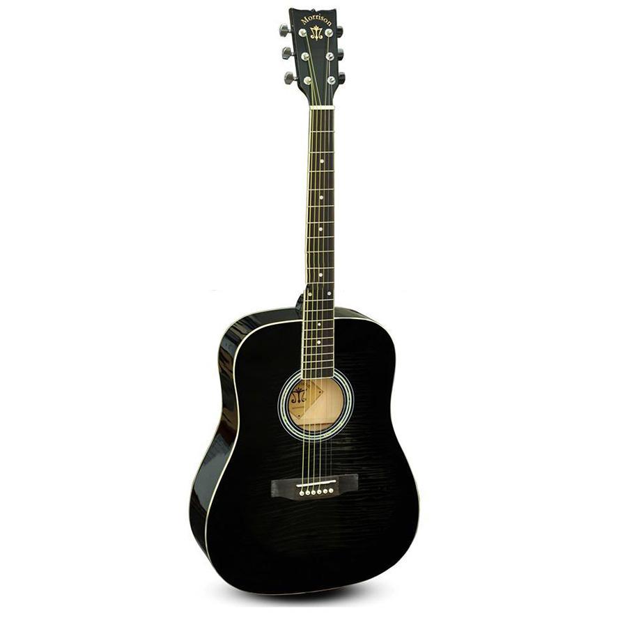 Đàn Guitar Acoustic Morrison MGW 405BK (Tặng bao,capo,Pick,ty chỉnh cần)