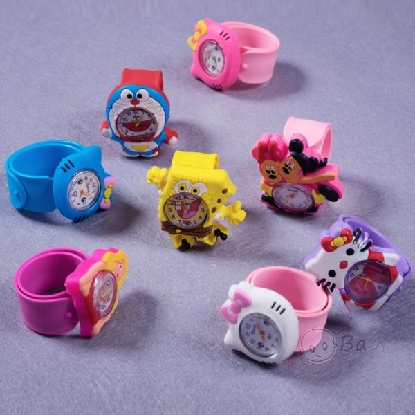 Giá bán Đồng hồ đập tay trẻ em Kitty Cute, Đồng hồ tay đập cho bé,đồng hồ cho bé