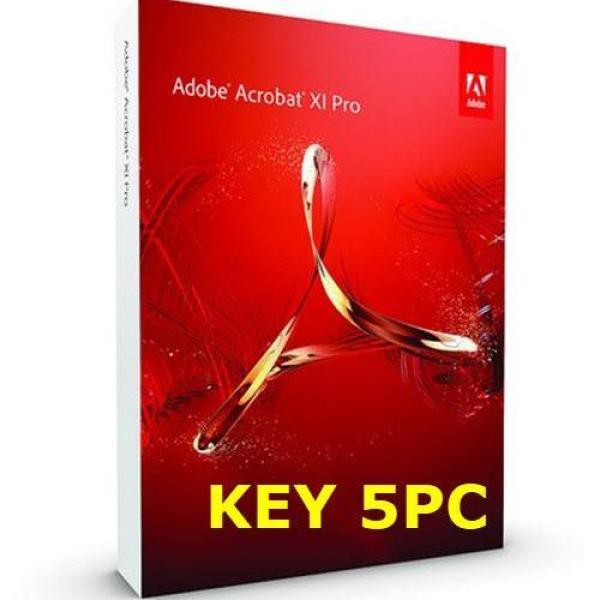 Bảng giá Phần mềm tạo sửa PDF Adobe Acrobat XI Pro - Key 5PC Phong Vũ